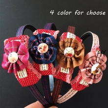 1 Pcs/lot Sweet Kids Girls Hairbands Classic Lovely Headband Fashion Headwear Accessories