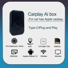 Voor Apple Auto Play Tv Voor Auto Box Android System Multimedia Player Video 2 + 32Gb Draadloze Spiegel Link carplay Tv Box