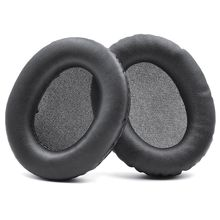 1Pair Leather Earpads Ear Cushion Cover for Hyperx Cloud Stinger/Hyperx Cloud Flight Headphones Headset high quality replacement leather earpads ear cushion cover headband for somic g925 headphones headset accessories