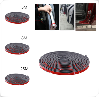 Universal Car Modification Parts Door Sticker B Type Rubber Seal for BMW M240i M140i 530i 128i i8 Z4 X5 X4 X2 X3 3-series image