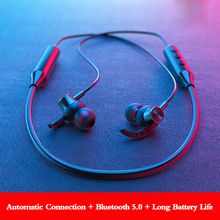Metal Magnetic Sport waterproof wireless headphones bluetooth noise canceling handsfree headset with Microphone for xiaomi phone oasion wireless handsfree bluetooth headset noise canceling business bluetooth earphone wireless headphones for a mobile phone