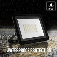 64LED IP65 Waterproof Ultra-Thin Floodlight 50W Outdoor Lighting Spotlight Integral Type Wall Plug Lamps AC180-265V