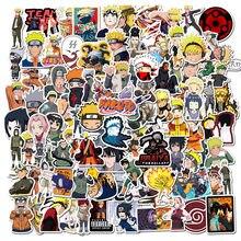 50/100 pçs japão anime dos desenhos animados para snowboard portátil bagagem geladeira carro-estilo de vinil decalque decoração para casa adesivos