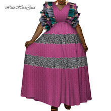 Африканские платья для женщин; Вечерние больших размеров; Платье