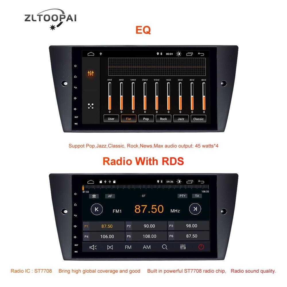 ZLTOOPAI 1 Din Android 10.0 lecteur multimédia de voiture pour BMW E90 E91 E92 E93 3 série GPS Navigation Auto Radio lecteur de voiture IPS nouveau - 5