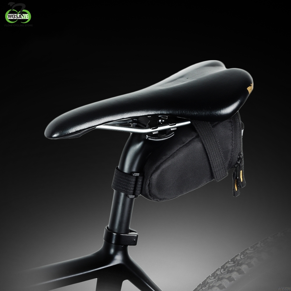 Bike Saddle Bag Mtb Mountain Bicycle Seat Post Case Cycling Waterproof For Phone