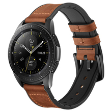 22mm Strap for samsung galaxy watch 46mm Gear S3 Frontier/Classic Huawei Watch GT band huami amazfit silicone&leather bracelet watch band for 22mm samsung gear s3 real leather with silicone watch strap for huawei watch 2pro wrist belt for huami amazfit 1