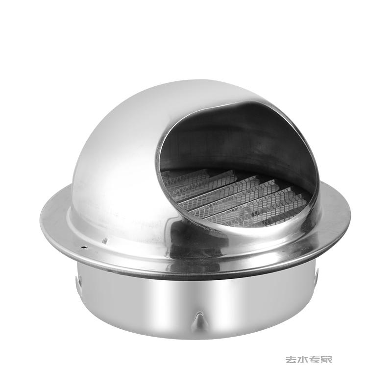 4 12 stainless steel exhaust hood wall ceiling vent cap exhaust grille cover outdoor air outlet kitchen ventilation fan system
