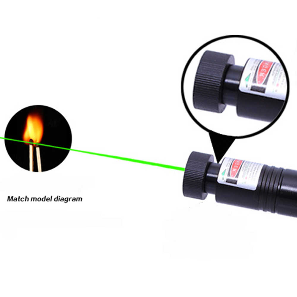 ציד לייזר מצביע לייזר ירוק טקטי לייזר sight עט 303 532nm 2000m שריפת laserpen קמפינג כלים עוצמה laserpointer