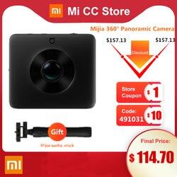 В наличии Xiaomi Mijia 360 ° панорамная камера 3,5 K видео запись Сфера камера IP67 оценка WiFi Bluetooth мини спортивная видеокамера