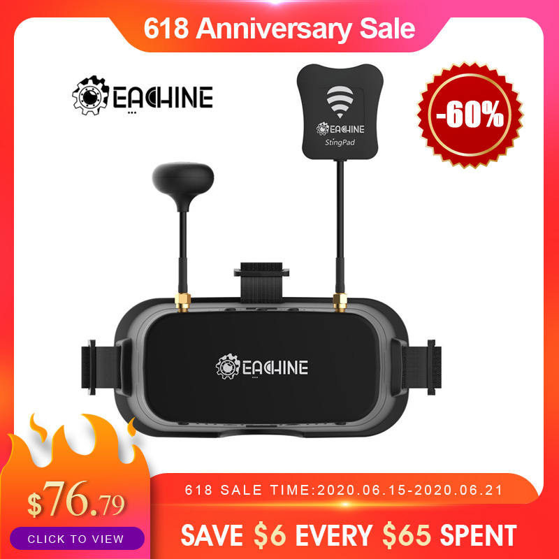 Eachine EV800DM Varifocal 5.8G 40CH Diversity FPV Goggles with HD DVR 3 Inch 900x600 Video Headset Build in Battery|Parts & Accessories|   - AliExpress