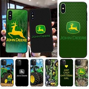 NBDRUICAI john deere DIY Printing Phone Case cover Shell for iPhone 11 pro XS MAX 8 7 6 6S Plus X 5S SE XR case(China)