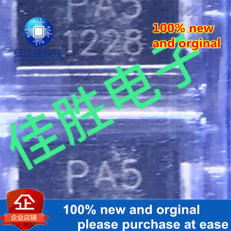 50pcs 100% New And Orginal PELA5VB02 DO214AC  Silk-screen PA5 Chip Lightning Protection, Discharge Tube  In Stock