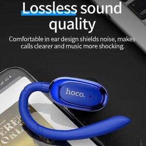 Image 5 - 高速オンチップ · ミニ Bluetooth イヤーフックイヤホンスーパー低音ワイヤレスヘッドセットイヤフォン用 iphone × huawei P20