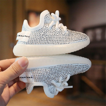 2020 Spring/Autumn Baby Girl Boy Toddler Shoes Infant Rhinestone Sneakers Coconut Shoes Soft Comfortable Kid Shoes
