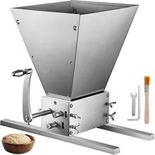 VEVOR Stainless 2-Roller 3-Roller Manual Grain Mill Grinder Barley Crusher Food Processors Homebrew Beer Corn Malt Wheat Soybean