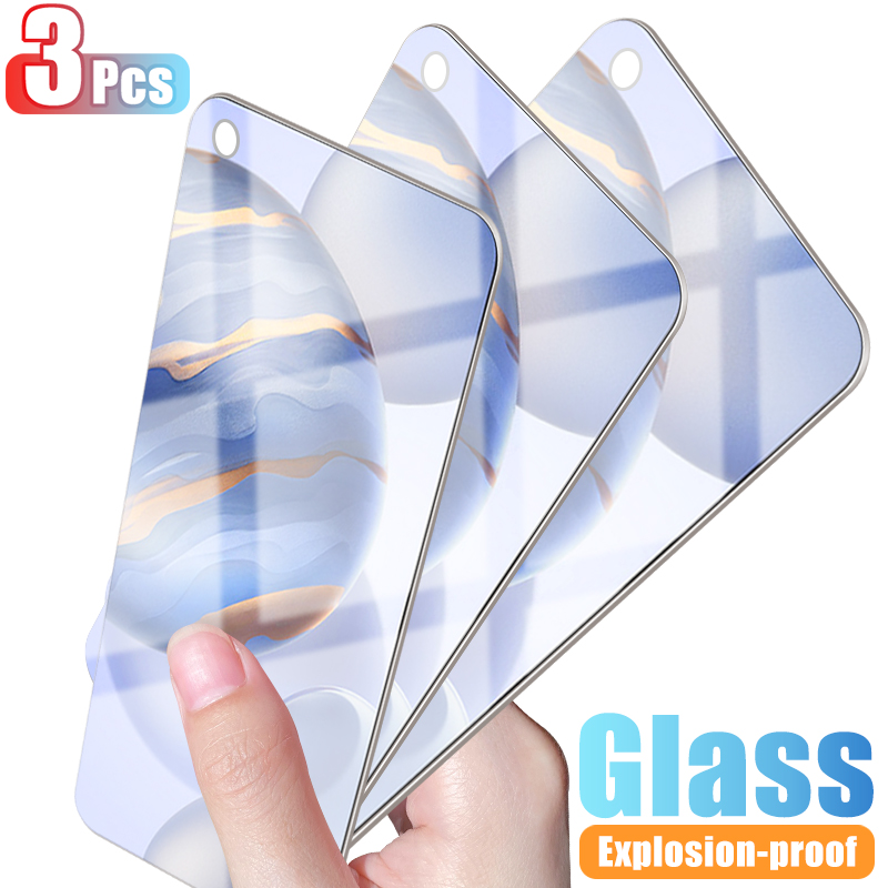 3Pcs Tempered Glass on For Huawei Honor <font><b>30</b></font> <font><b>10</b></font> 20 Lite Full Cover Screen Protector Glass Honor 9 8 Lite 20S 30S Glass Film 9H HD image