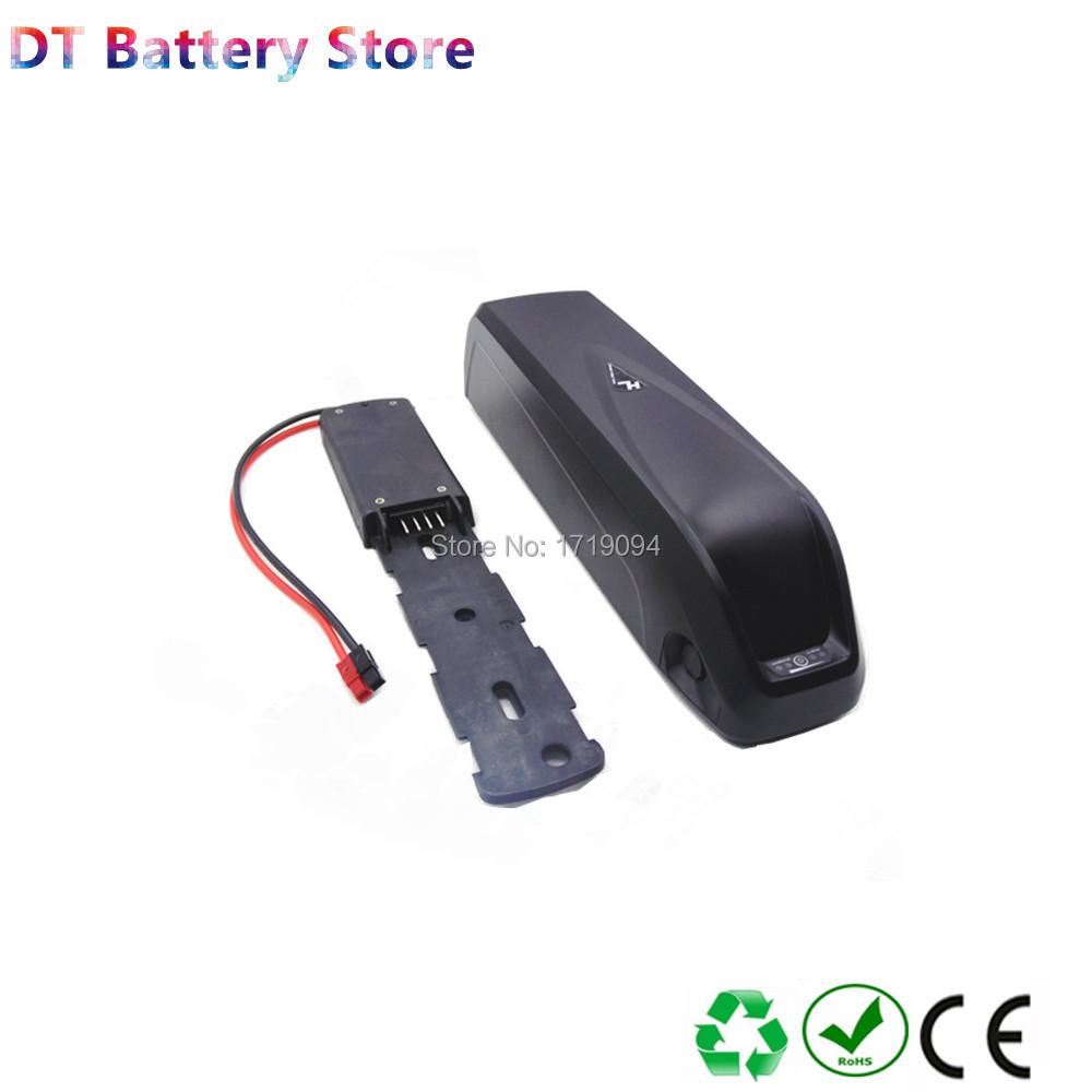 Free Shipping New Hailong Shark Down Tube Ebike Battery With Charger 24v 36v 48v 52v 10ah 10.4ah 11.6ah 12.8ah 14ah 16ah 17ah
