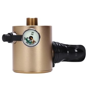 DIDEEP Mini Scuba أسطوانة أكسجين خزانات الهواء معدات غطس للغوص تحت الماء التنفس الملء محول صمام رئيس الفم