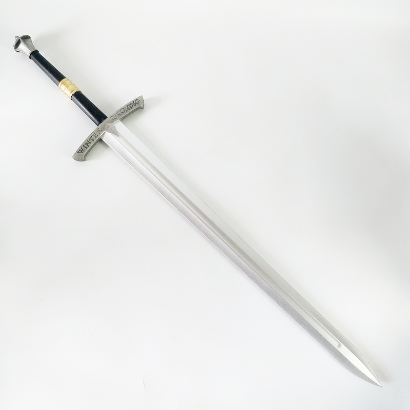 Movie Props Frost Sword Cos Movie Sword Props Stage Props Pu Foaming Process Safe And Durable Knight With Sword Toys Kids