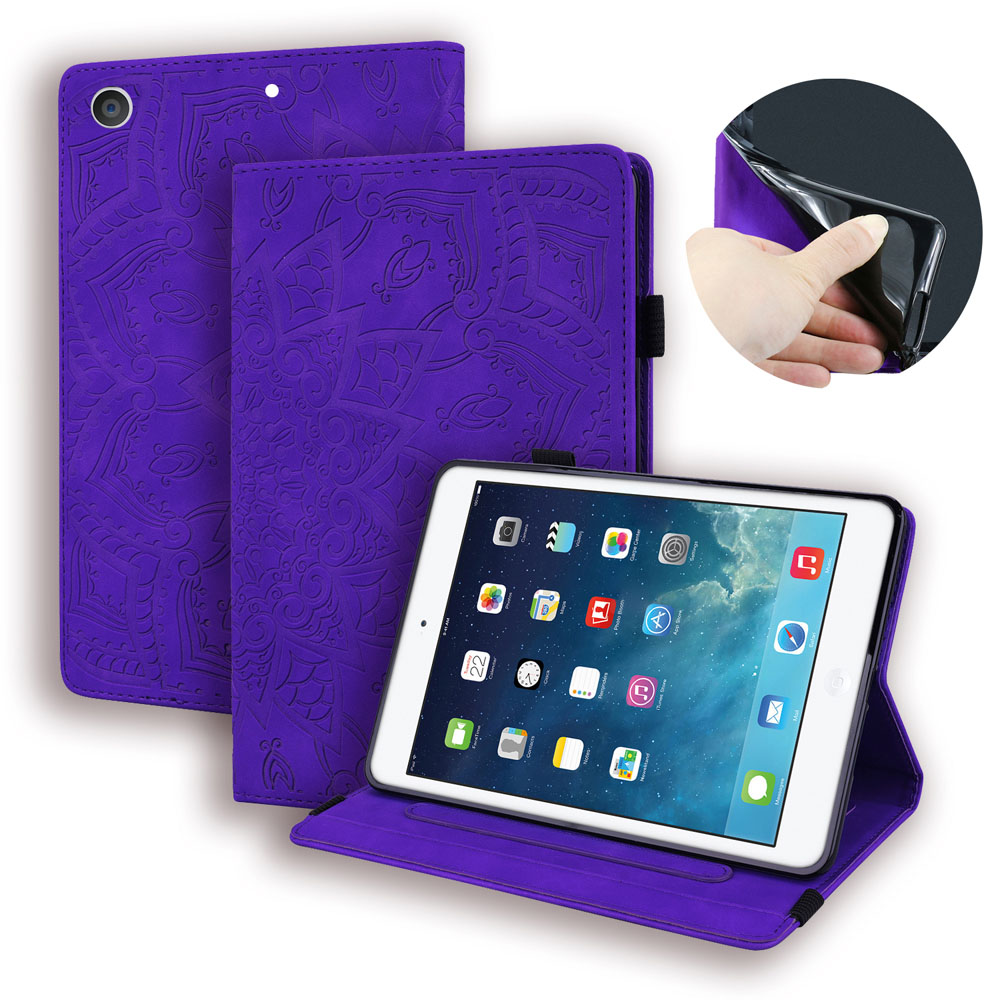 Case Silver Case For iPad 10 2 inch 2019 Stand Auto Sleep Smart Folio PU Leather Cover For