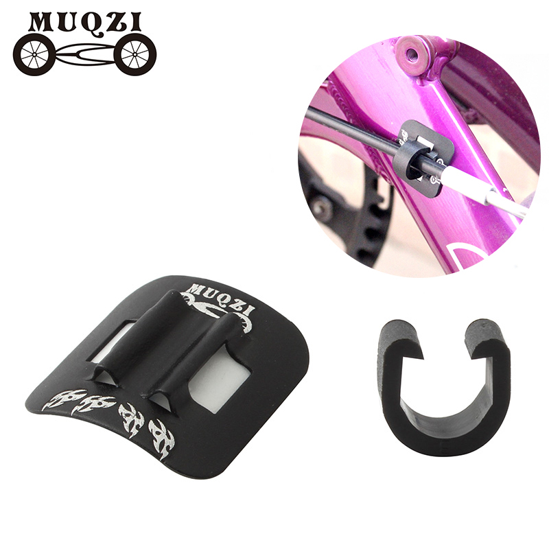 Road Bike Shifter Brake Cable Ties Clamp Oil Tubing Cable Buckle Fixed Snap