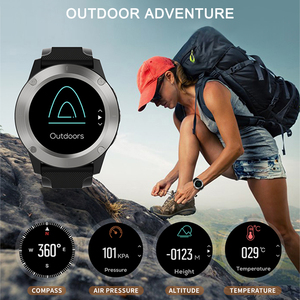 Image 5 - 2020 Smart Watch Men Heart Rate Monitor GPS Fitness Tracker Compass Atmospheric Pressure Altitude Temperature Monitor Smartwatch