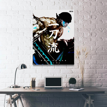 Prints Posters Home Decor Canvas Singleton Handsome Boy Painting Wall Artwork Fight Cool Modern Bedroom Cuadros Modular Pictures image