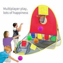 Детская палатка для улицы съемки в помещении складной игровой