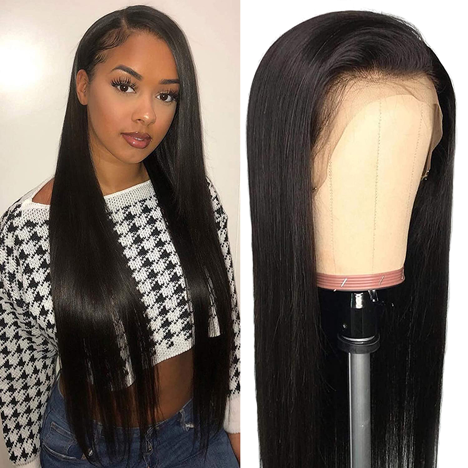 Lace Closure Wigs 13x4 Frontal Wig Straight Lace Front Wig 180  30 Inches Lace Wig   Wig Lace Closure Wig 1