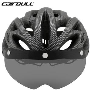 Image 4 - Fahrrad mit einteiliges berg mtb rennrad helm Atmungsaktive Bilateralen Powermeter Abnehmbare reiten Casco Ciclismo zubehör