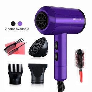 Image 2 - 3200 Professional Hair Trockner Heißer/Kalten Wind Schnelle Wärme Haartrockner Styling Tools 220 240V High Power Schlag trockner Friseur 40D