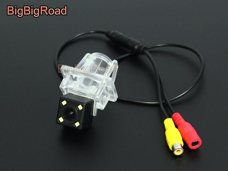 BigBigRoad Car Rear View Camera For A series W176 C seires W204 E series W212 W213 W207 C207 SLK SLC Class R172 (10)
