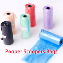 Pooper Scoopers Bags Pick Up Garbage Convenience For Dogs and Cats Pet Disposal Bag supplies