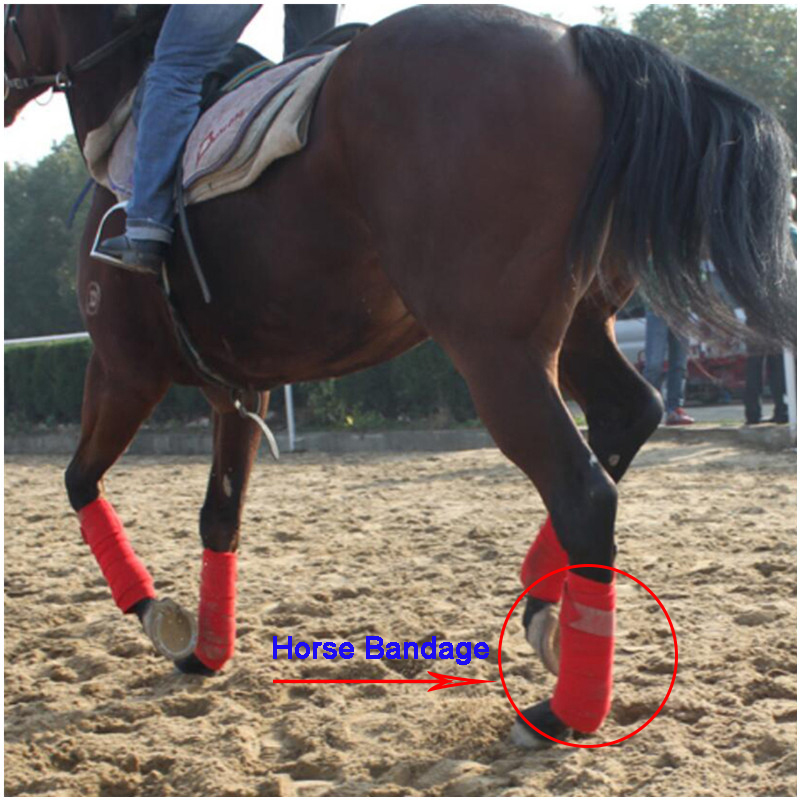 Horse Bandage Durable Soft Horse Care Protector Legs Caballos Wraps  Bandage Horse Riding Equipment Equestrian Horse Leggings