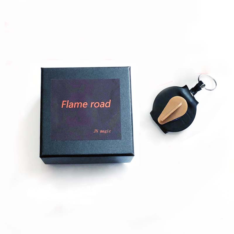 Fire Reel 2.0 Flame Road Magic Tricks Magician Stage Street Illusions Gimmick Props Accessories Mentalism Appearing Fire Magia