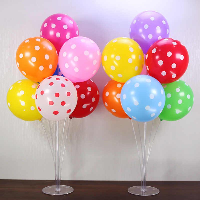 1 ชุดบอลลูนวันเกิดHappy Air Balls Stickขาตั้งบอลลูนวันเกิดParty Decorเด็กผู้ใหญ่ArchตารางBallonอุปกรณ์เสริม