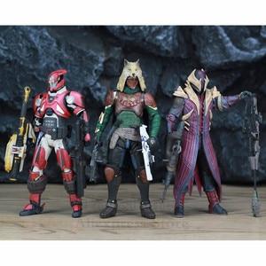 Image 4 - McFarlane jouets DESTINY, bannière en fer, 7 pouces, chasseur, Titan Kings Fall, Warlock, modèle daction Million, Blacksmith, Shader, Bungie