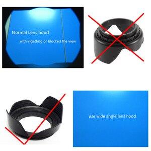 Image 4 - Filtrem UV i kaptur Cap pióro do czyszczenia dmuchawy powietrza pierścień pośredni do Nikona aparat Coolpix B700 B600 P610 P600 P530 P520 P510 kamery