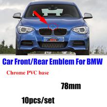 10 stücke 78mm Blau Weiß Auto Auto Abzeichen Emblem Abzeichen Haube Front Rear Trunk Logo 7 8 cm für Bmw e38 E65 E66 E31 E53 Logo cheap CN (Herkunft) China 78mm front Rear Trunk Badge 0 1kg for bmw for BMW E60 E90 F10 F30 F15 E63 E64 E65 E86 E89 E85 E91 E92 E93 F02
