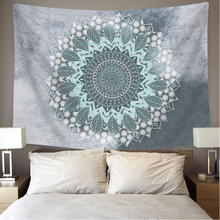 Mandala Tapestry , Hippie Bohemian Flower Psychedelic Indian Dorm Decor for Living Room Bedroom
