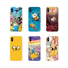 For Oneplus 3T 5T 6T Nokia 2 3 5 6 8 9 230 3310 2.1 3.1 5.1 7 Plus 2017 2018 Mobile Phone Bag Case Quinn Adventure Time Jake Dog(China)