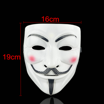 1PCS 8 Style Party Masks V for Vendetta Mask Anonymous Guy Fawkes Fancy Adult Costume Accessory Party Cosplay Halloween Masks,Q 1