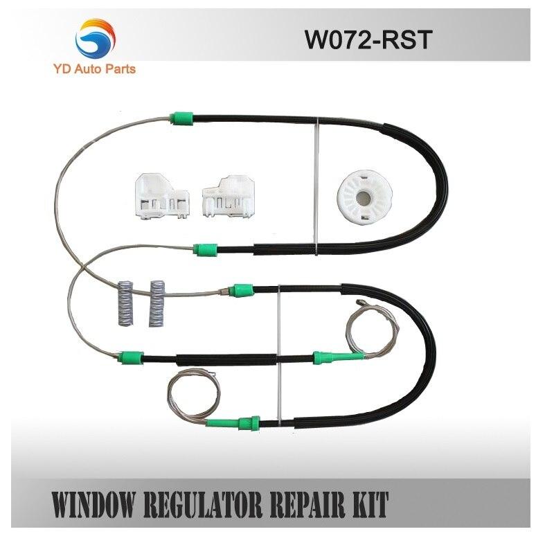 FOR VW PASSAT WINDOW REGULATOR REPAIR KIT FRONT-RIGHT 1996-2005