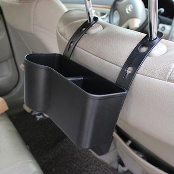 Zagłówek fotela samochodowego uchwyt na kubek napój i jedzenie Pickup schowek na samochody SUV S55 tanie i dobre opinie Seat Powrót Torba Plastic