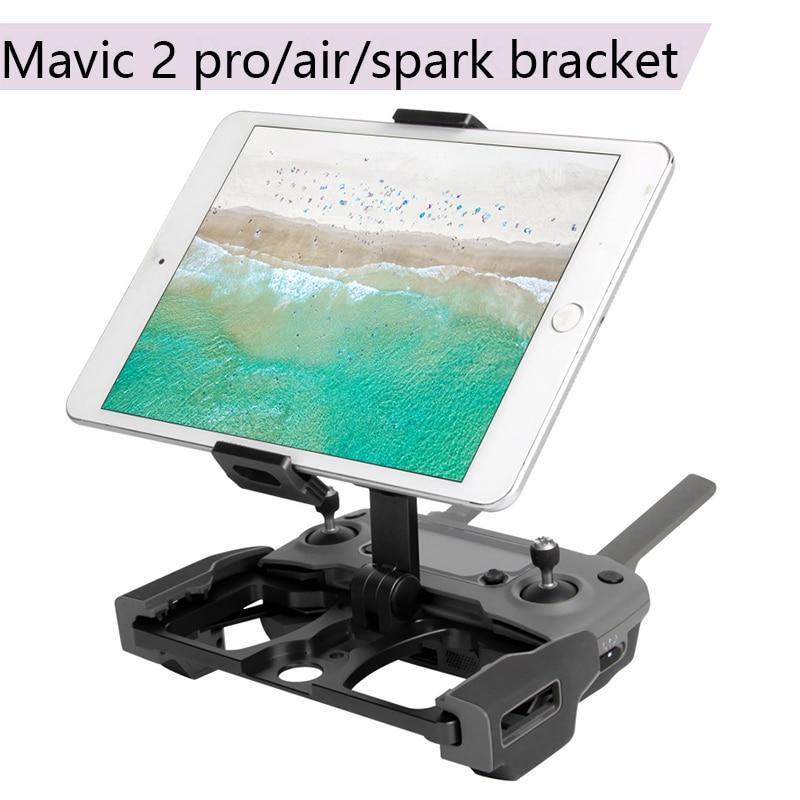Support de support de moniteur cristalsky pour Smartphone pour accessoires DJI MAVIC 2 PRO/ZOOM/MAVIC PRO/AIR/étincelle Mavic Mini