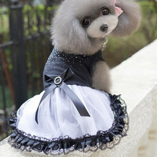 1 pc Pet Dog Tutu Dress Lace Skirt Cute Cat Princess Party Apparel Clothes For American Shorthair