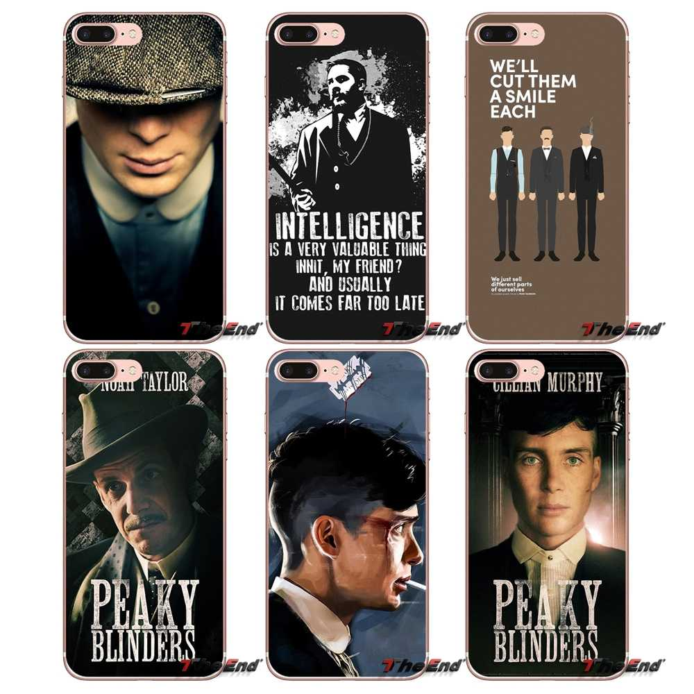Peaky Blinders Zachte Transparante Gevallen Covers Voor Apple iPhone X 4 4S 5 5S SE 5C 6 6S 7 8 Plus 6sPlus 6Plus 7plus 8plus