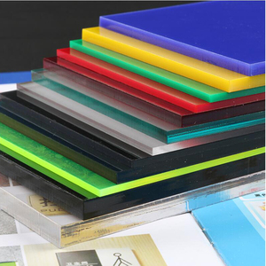 3mm red, yellow, blue, green, black acrylic plate, plexiglass panel, customized size and shape, DIY number light box