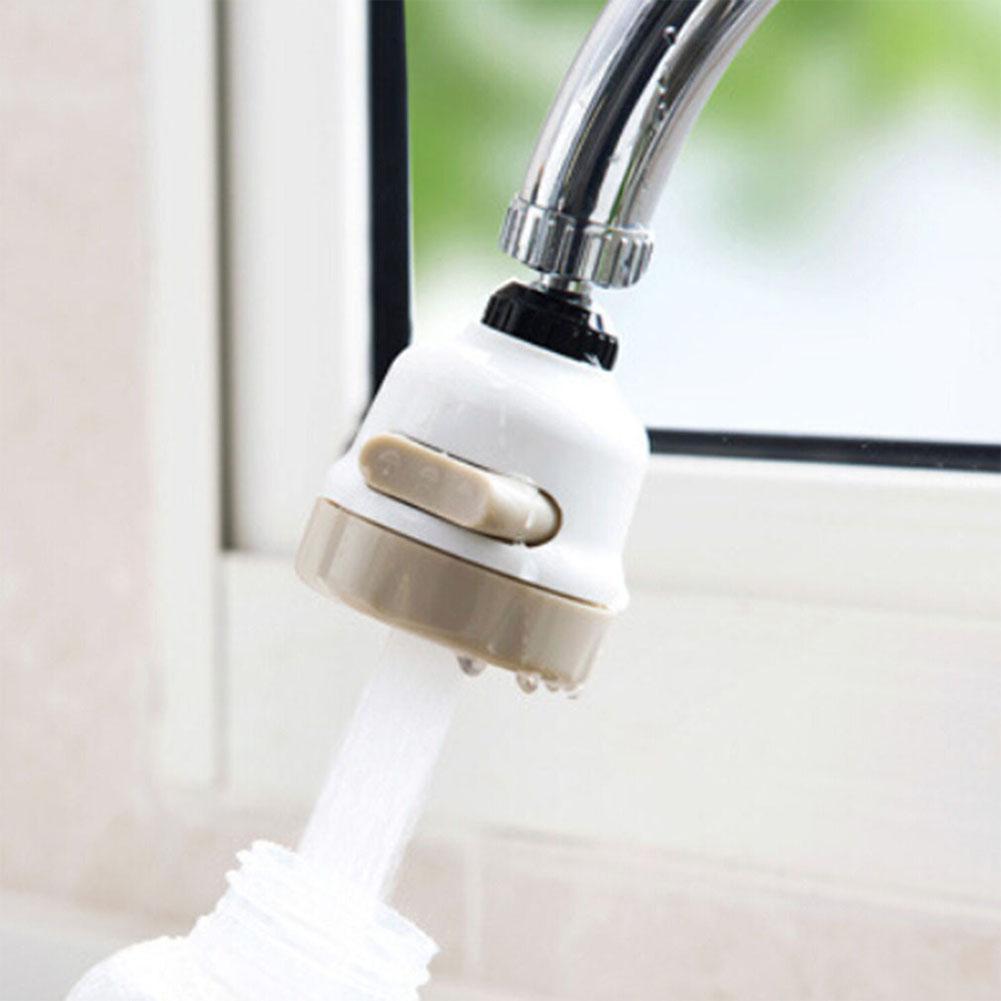 Kuulee Anti-splash Faucet Filter Tip Kitchen Sprayer Tap Water Strainer Water Economizer Kitchen Supplies